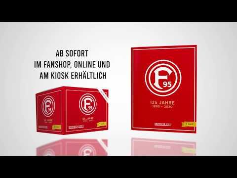 125 Jahre Fortuna Düsseldorf – das Panini-Album!
