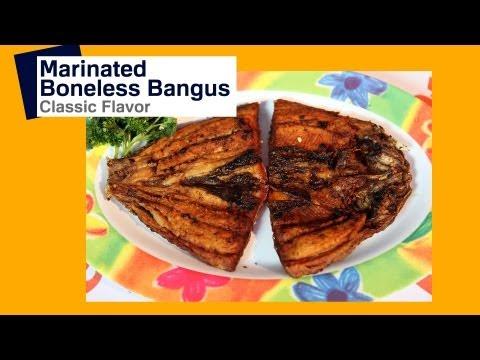 Daingna Bangus: Marinated Bangus | Pinoy How To