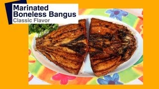 Daingna Bangus: Marinated Bangus | Pinoy How To