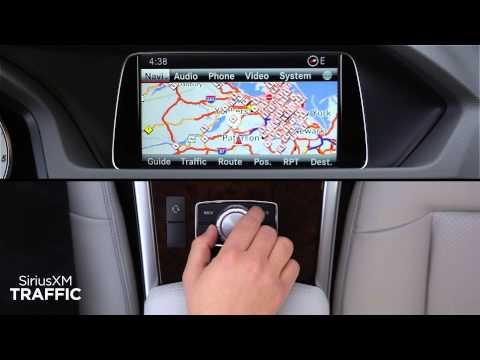 Mercedes Benz + SiriusXM Traffic