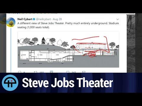Steve Jobs Theater: Blueprints