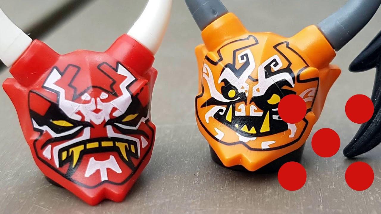 #236 - Oni Masks of Vengeance & Deception - Lego Ninjago ...
