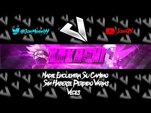 Speed Art // Banner Para Kakashi// Hago Banners Gratis Y De Paga