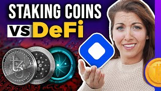 Earn Passive Income with Crypto Pt 1:  Staking vs DeFi