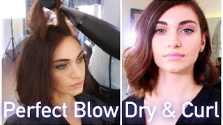 Part 2 :  Perfect Blow Dry & Curls ft Barney Martin | RubyGolani Thumbnail