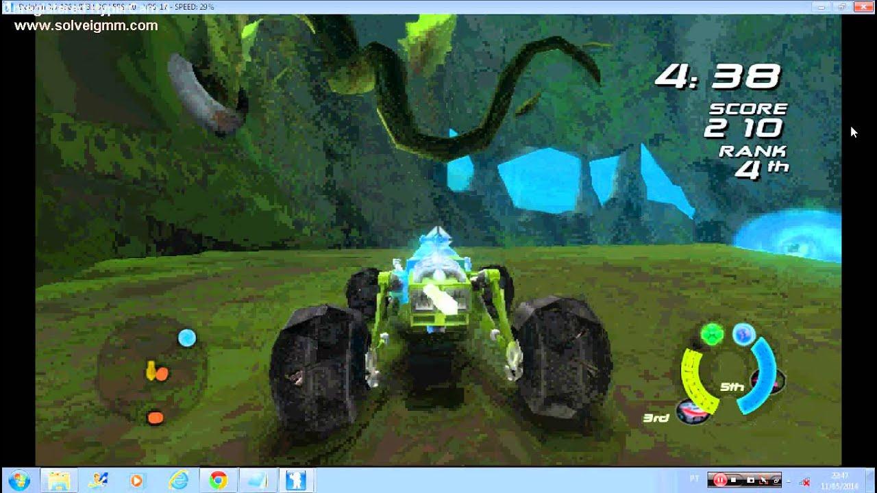 Wii emulador - Hot Wheels Battle Force 5 ( Tangler ) - YouTube
