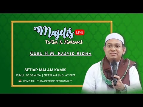 Download Guru Rasyid Ridho - Pengajian 2019-09-11 Malam Kamis - Kitab Minahus Saniyyah MP3 & MP4
