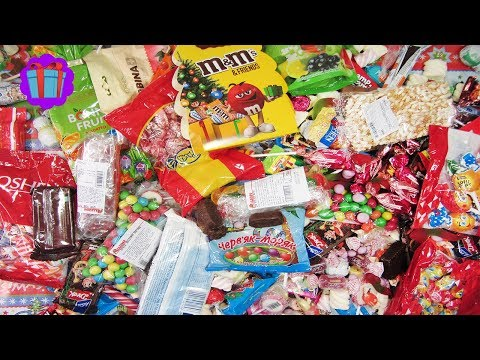 New! 2018 A Lot Of Christmas Candy | New...