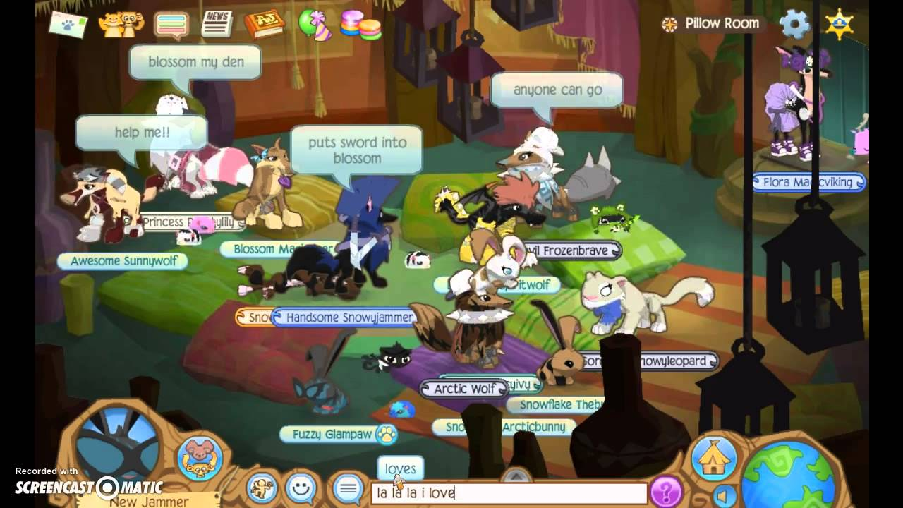 Why I hate the pillow room Animal Jam - YouTube