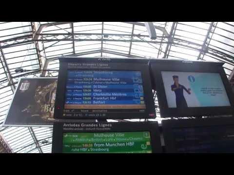 Inside TGV Paris Est - Frankfurt