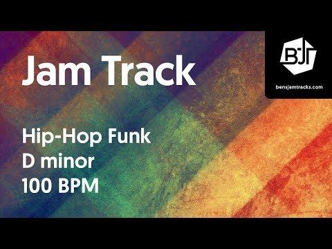 Hip-Hop Funk Jam Track in D minor 100 BPM