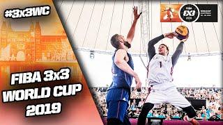 Re-Live - FIBA 3x3 World Cup 2019 - Finals - Day 6 - Amsterdam, Netherlands