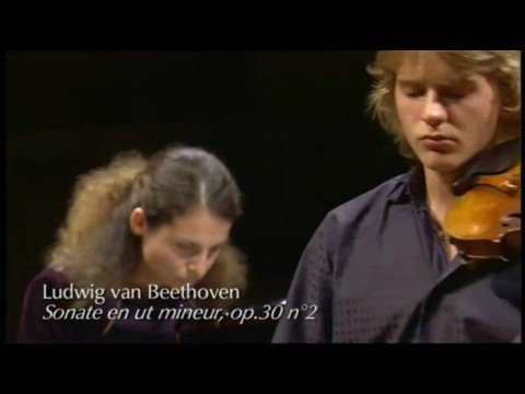 Valeriy Sokolov plays Khachaturian Violin Concerto and Beethoven Sonata op. 30 No. 2