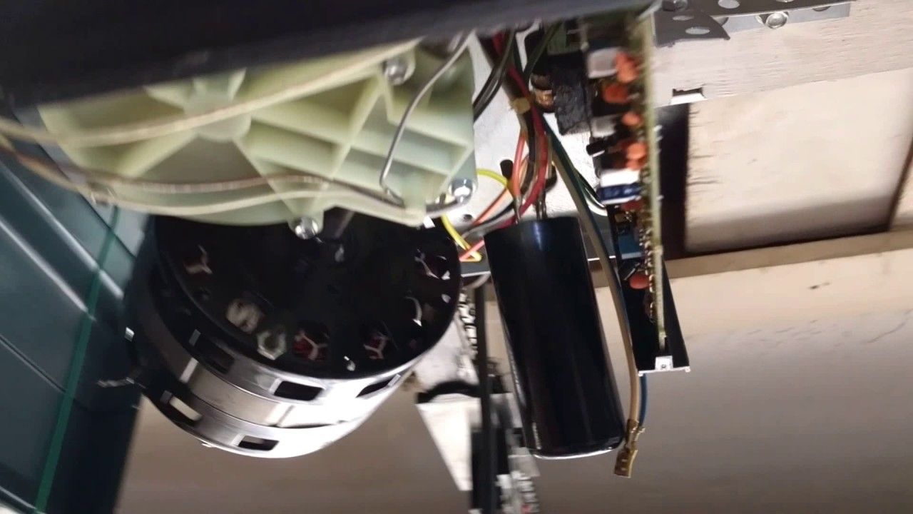 garage door capacitorReplacing capacitor on Overhead Door garage opener  YouTube