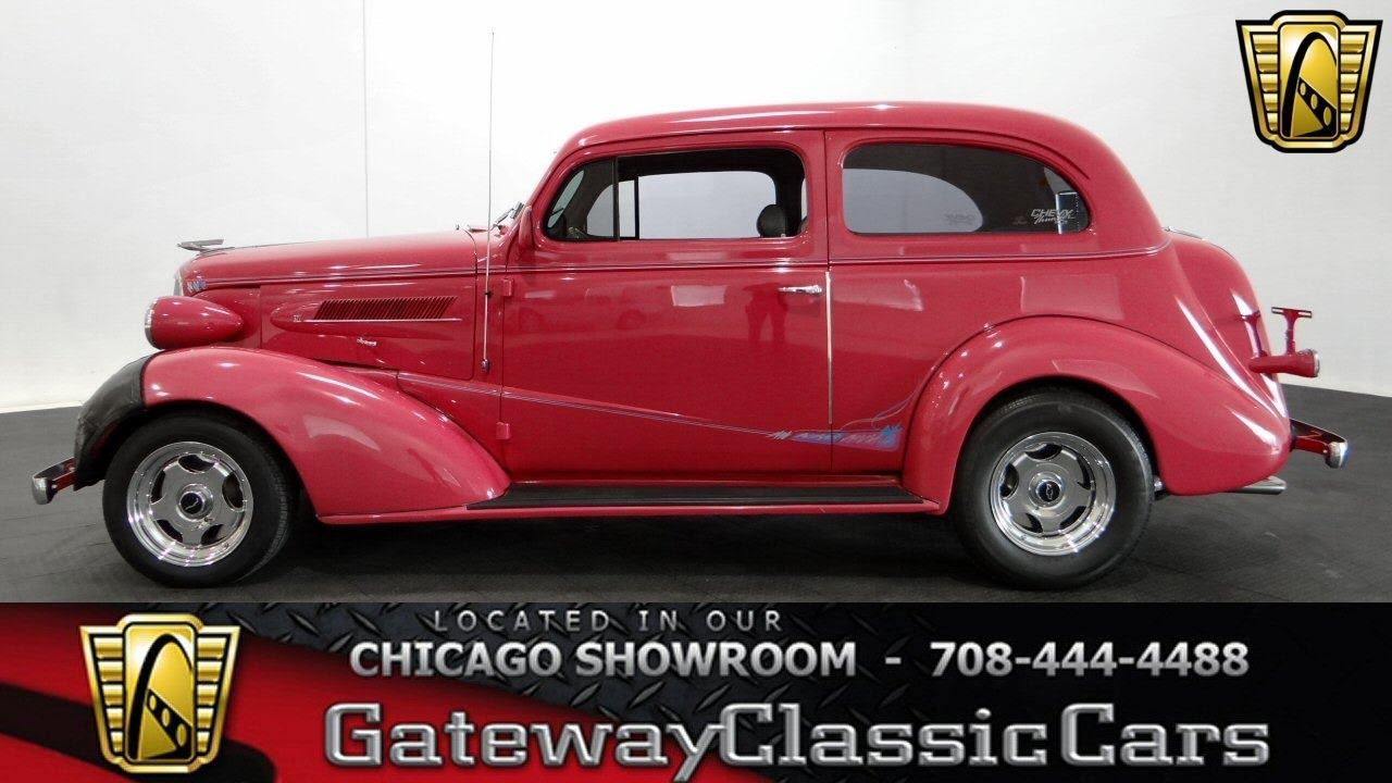 1937 Chevrolet Sedan Gateway Classic Cars Chicago #1154 - YouTube