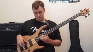 Уроки игры на бас гитаре.