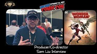 NYCC 2019 | Wonder Woman: Bloodlines | Sam Liu (producer/co-director) Interview