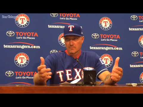 "Jeff Banister calls Sunday ejection ""quite puzzling"""