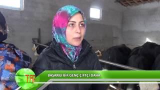 Bir genç çiftçi başarısı da Aksaray'dan