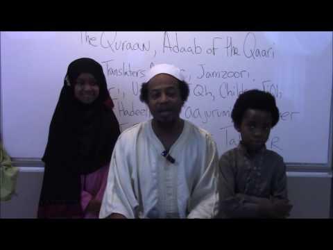 Abu Taubah's LIVE Children's FiQh Course.