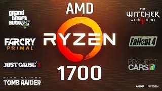AMD Ryzen 7 1700 Test in 7 Games (GTX 1060)