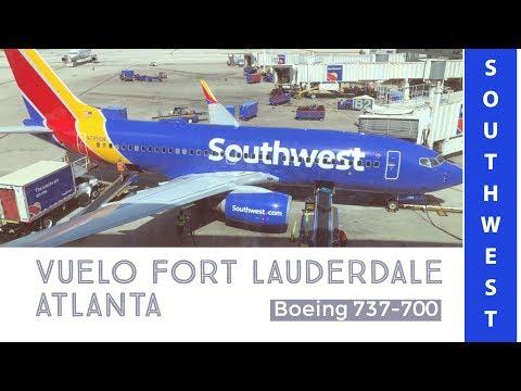 Vuelo Southwest entre Fort Lauderdale y Atlanta