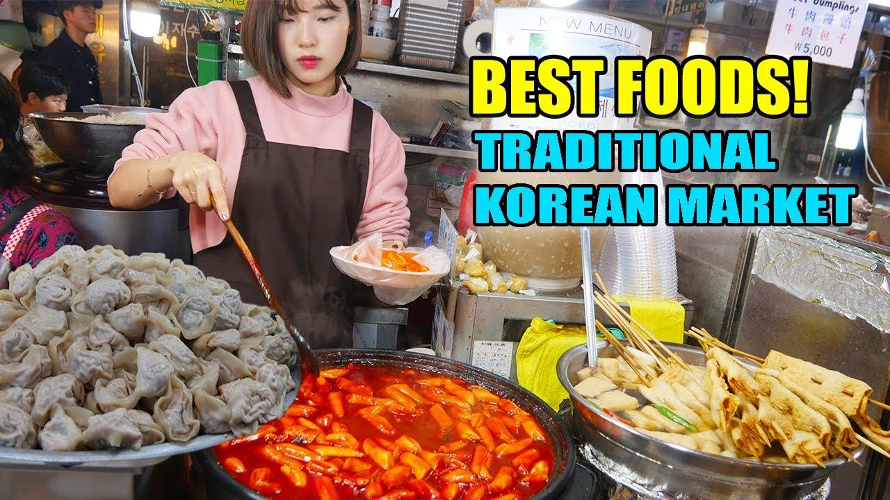 Spicy Tteokbokki Best Korean Street Food At Traditional Markets