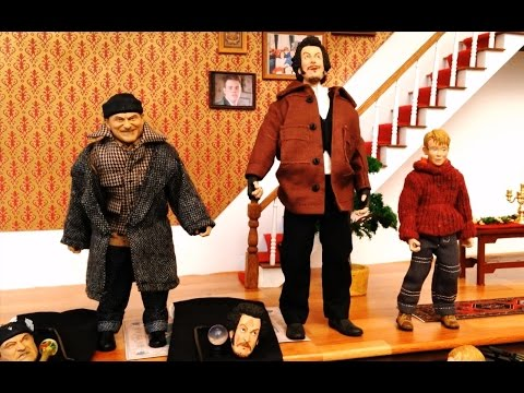 Home Alone Neca Action Figures Review Unboxing