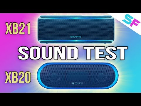 Sony SRS-XB21 vs Sony SRS-XB20 Sound Test - Is the newer one better?