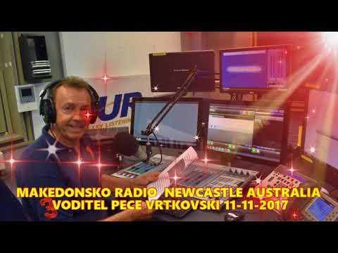 MAKEDONSKO RADIO 2NUR 103.7 FM NEWCASTLE AUSTRALIA 11-11-2017