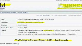 Sex slavery of 7 year old girls... - Saudi Arabia Trafficking In Persons Report