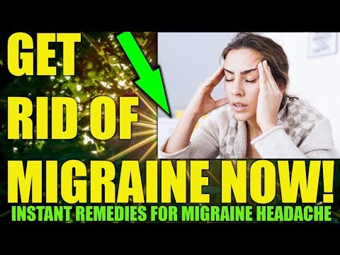 HOW TO GET RID OF MIGRAINE HEADACHES WITHOUT MEDICINE - Home Remedies To Cure Migraine Permanently