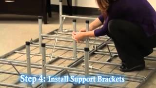 How To Assemble The Arch Bow Leg Platform Bed Frame