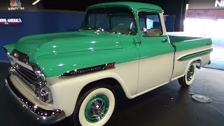 1959 Apache Pick Up ScottieDTV Traveling Charity Road Show 2014