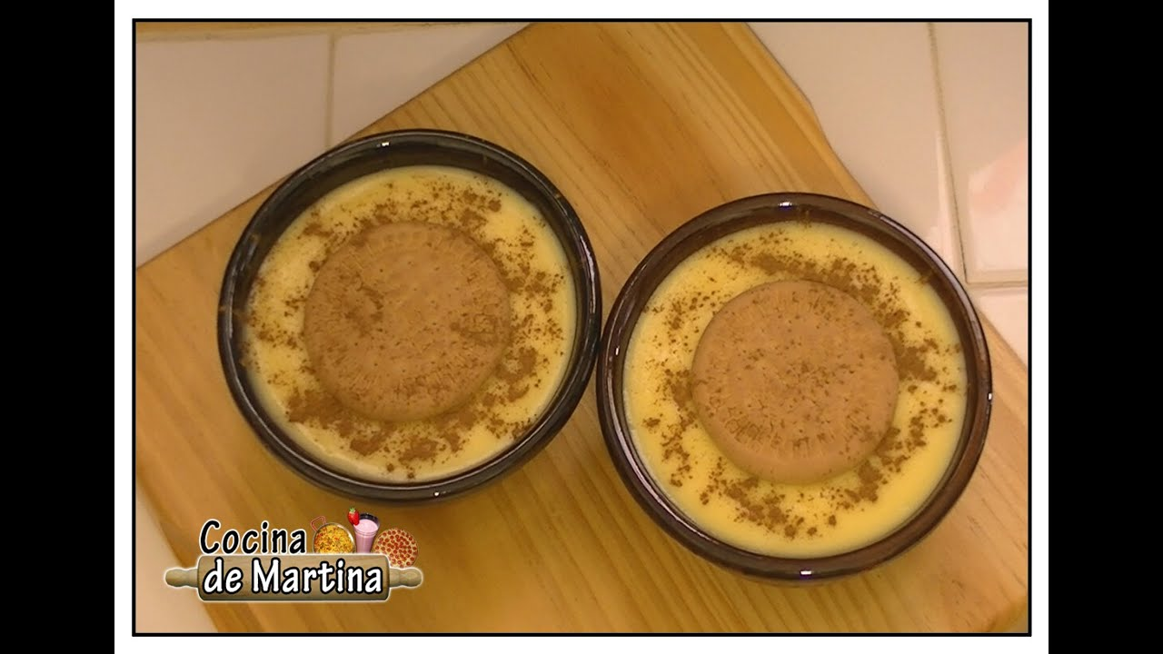Natillas caseras recetas de cocina cocina de martina for Youtube videos de cocina