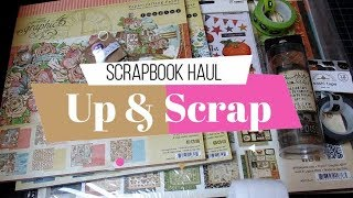 Compras Scrapbook Haul de halloween | Up y Scrap | Yoltzin handmade