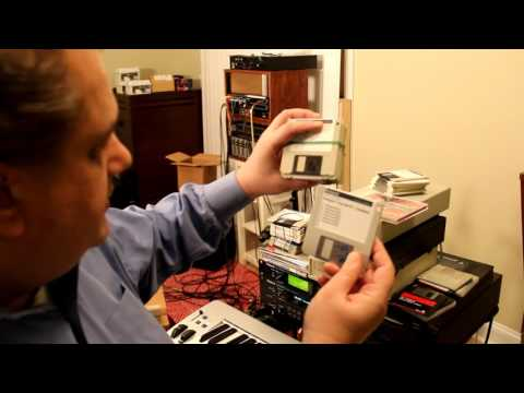 Roland samplers, SCSI, diskettes
