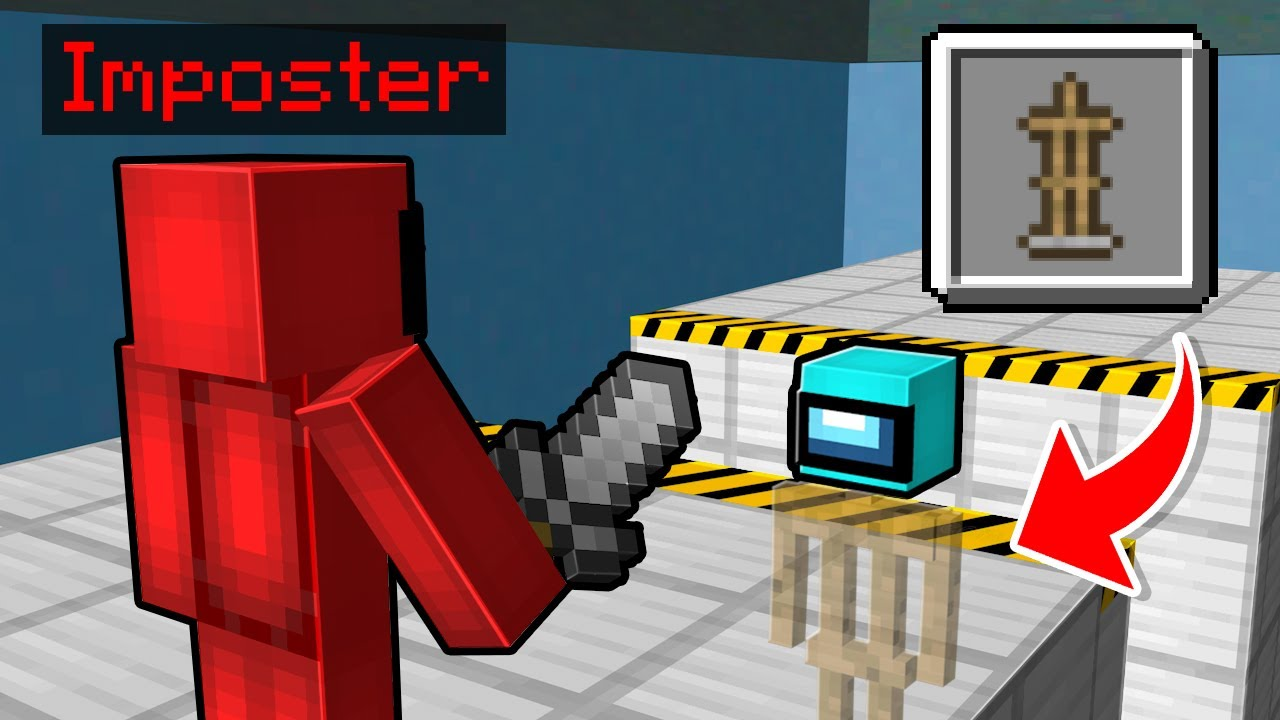7 Ways to Prank The Impostor in Minecraft Among Us..
