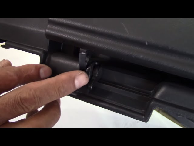 NISSAN SKYLINE GT-R33 PROJECT - How To Repair the Glove Box Lid Hinge - Video II