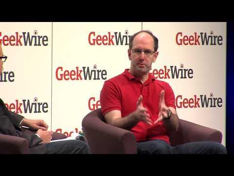 Scott Guthrie, Microsoft Cloud & Enterprise Chief, at the 2017 GeekWire Summit