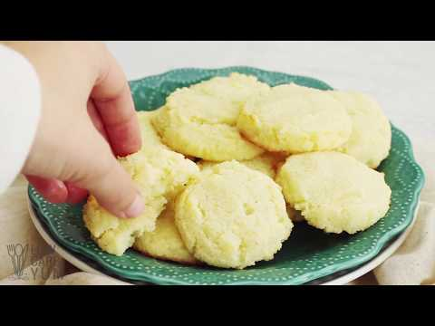 Keto Low Carb Coconut Flour Cookies