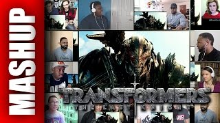 TRANSFORMERS 5 The Last Knight Trailer 2 Reactions Mashup