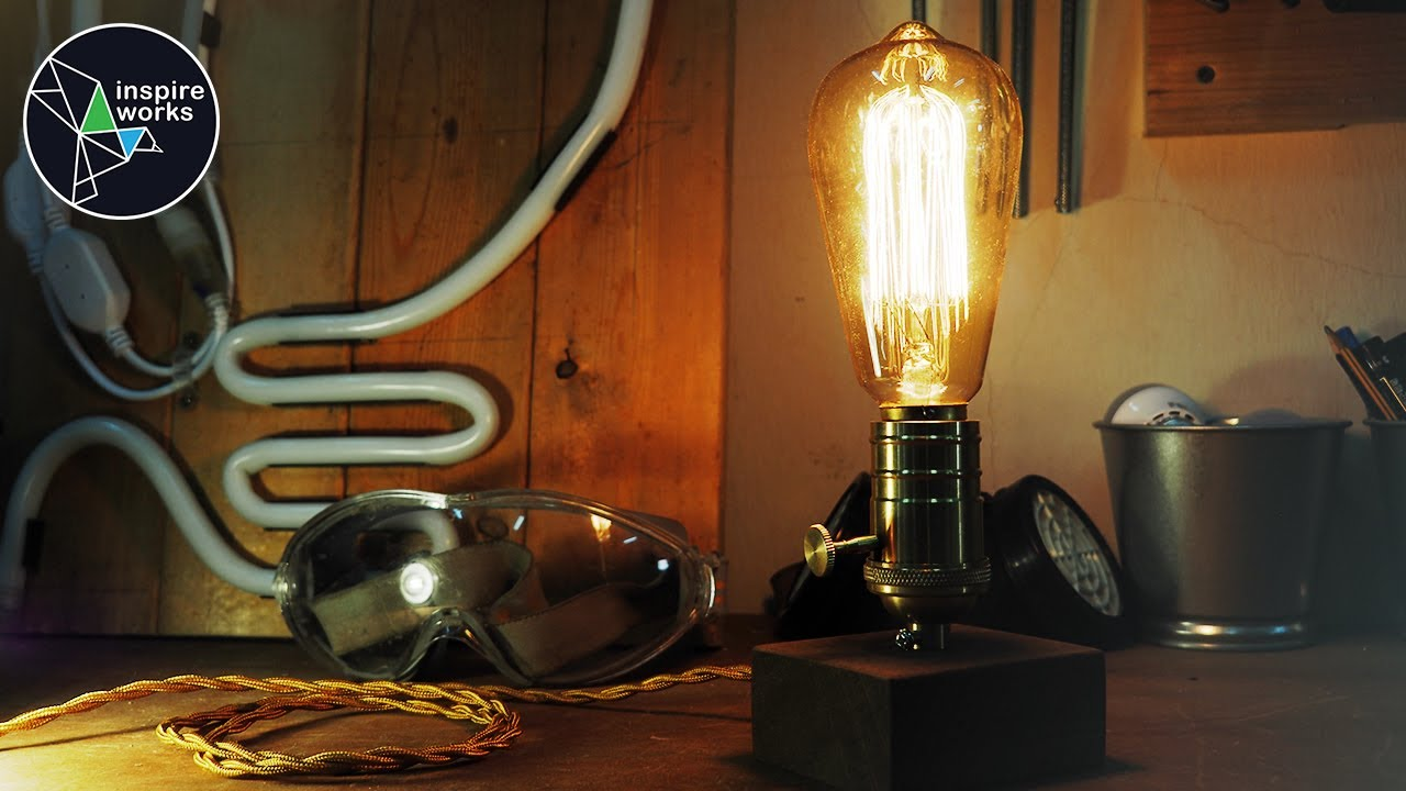 Diy Vintage Edison Bulb Table Lamp
