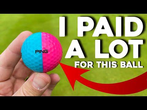 Super EXPENSIVE Ping Golf balls!