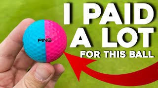 Super EXPENSIVE Ping Golf balls!