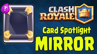 Clash Royale - Card Spotlight: MIRROR (Deploy double the power!)(Clash Royale Card spotlight: MIRROR ▻ Live Streaming and Exclusives videos! Download Kamcord here and follow me: ..., 2016-01-15T18:00:00.000Z)