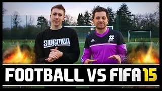 FOOTBALL VS FIFA WITH MINIMINTER!