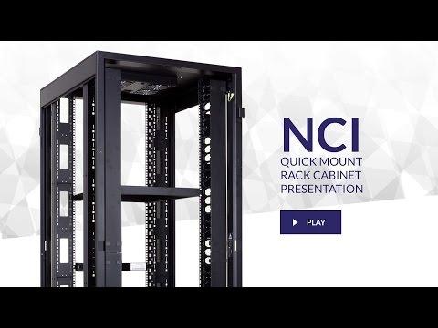 Linkbasic NCI Series - Quick Mount Floor-standing Rack Cabinets - Presentation