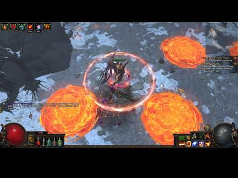 Path of exile - Summit Map Boss T12 (War for the Atlas)