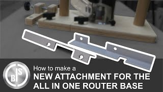 EXPERIMENTING WITH A NEW ATTACHMENT FOR THE ALL IN ONE ROUTER BASE | DADO JIG